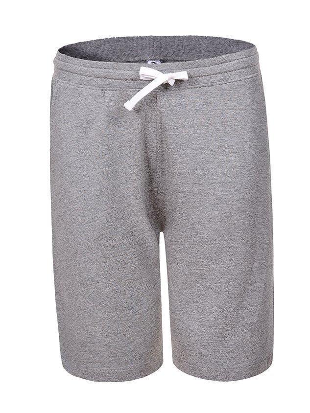 Мужские спортивные серые шорты