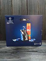 Gillette Fusion ProGlide Styler (стайллер для гоління + гель для гоління 200 мл+ насад) в коробці НАБІР