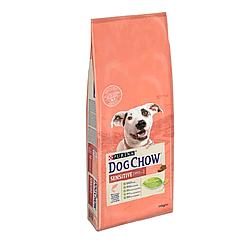 Корм Dog Chow Adult Sensetive Дог Чау Сенсетів для дорослих собак з лососем 14кг