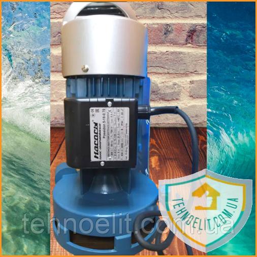 Бытовой наружный вертикальный насос БЦН для полива огорода Poseidon 5-18-0,75