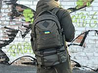 Якісний тактичний рюкзак (40 л) хакі, фото 1
