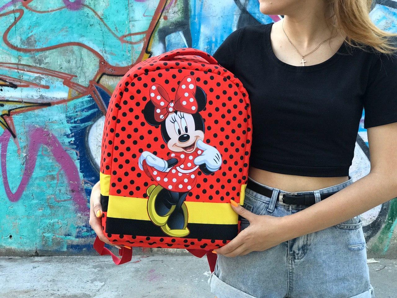 Спортивний шкільний рюкзак Міки