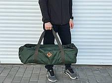 Велика дорожня сумка-рюкзак, хакі (60 л.)
