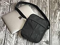 Чоловіча чорна сумка на плечі Off - White, фото 1