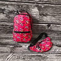 Дитячий рюкзак + бананка Мікі