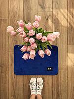Маленький килимок в кімнату синій (яскравий), фото 1