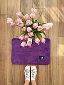 Маленький коврик в комнату фиолетовий