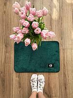 Маленький килимок в кімнату хакі, фото 1