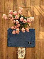 Маленький коврик в кімнату синій, фото 1