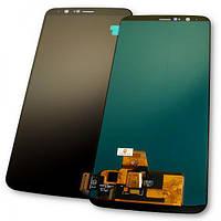 Дисплей OnePlus 5T A5010 OLED с сенсором, черный (копия AAA), фото 1