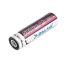 Аккумулятор X-BALOG 14500-5800mAh, коричневый