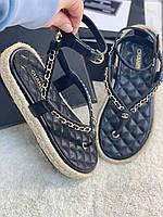 Стильные сандалии Шанель  (реплика), фото 1