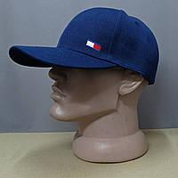 Бейсболка с модным логотипом Tommy Hilfiger в синем цвете