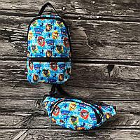 Дитячий рюкзак + бананка Щенячий патруль