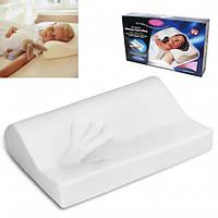 Анатомическая подушка с эффектом памяти Memory Foam Pillow ортопедическая подушка