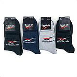 Мужские средние спортивные хлопковые носки Reebok, фото 2