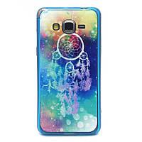 Чехол накладка для Samsung Galaxy Grand Prime SM-G530H акриловый с силиконом, Ловец снов