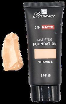 Тональний крем матуючий Romance spf15 з вітаміном Е (Y-62) №1