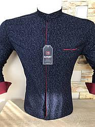 Молодіжна сорочка з довгим рукавом, стійка- G-Port*300
