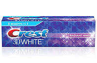 Отбеливающая зубная паста Crest 3D White Radiant mint 24гр
