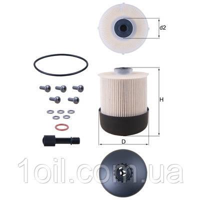 Фильтр топливный KNECHT KX338/26D  (Renault 8421230090)