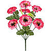 Букет искусственных цветов Маргаритка цветная , 35 см