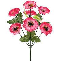 Букет искусственных цветов Маргаритка цветная , 35 см, фото 1