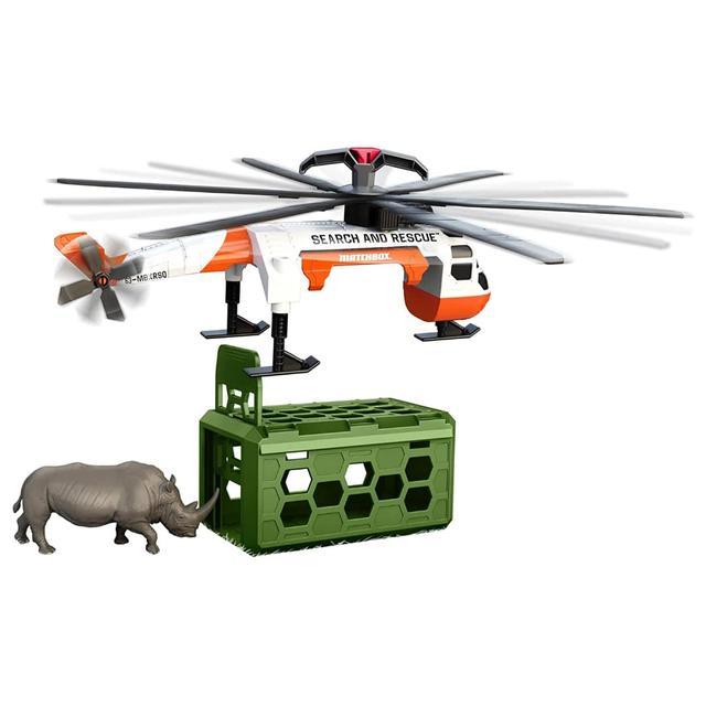 Рятувальний вертоліт Matchbox Rescue Adventure Set