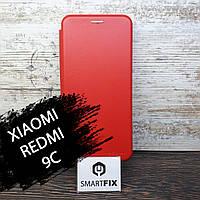 Чохол книжка для Xiaomi Redmi 9C G-Case Червоний, фото 1