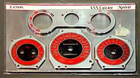 ProSpirit - Накладки на панель приборов для DAEWOO LANOS, White & Orange, LS-008