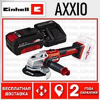 Аккумуляторная бесщеточная болгарка Einhell AXXIO Power X-Change (4431140) 4.0 kit