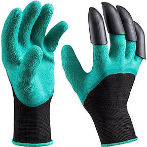 Перчатки для сада и огорода Garden Genie Gloves c когтями, фото 2