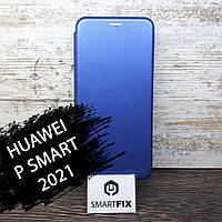 Чехол книжка для Huawei P Smart 2021 G-Case Синий, фото 1