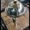 Садж.Подставка для подогрева шашлыка. Набор для шашлыка. Садж для подачи шашлыка 36 см.