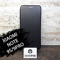 Чехол книжка для Xiaomi Redmi Note 9S/9 Pro G-Case Черный