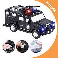 ✨ Игрушка машина копилка сейф грузовик с кодовым замком и отпечатком пальца ✨