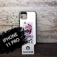 Силіконовий чохол з малюнком під склом для iPhone 11 Pro Girls Case дизайн №5, фото 1