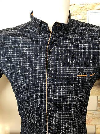 Приталенна сорочка G-Port*670 з принтом, фото 2