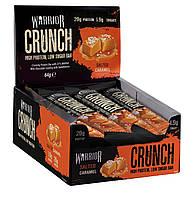 Протеиновый батончик Warrior Crunch Bars 64g Salted Caramel