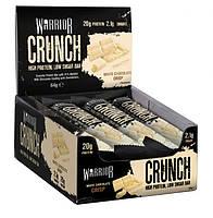 Протеиновый батончик Warrior Crunch Bars 64g White Chocolate