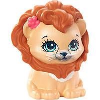 Кукла Enchantimals Энчантималс Стильный салон львенка Лейси меняет цвет волос GTM29, фото 6
