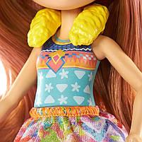 Кукла Enchantimals Энчантималс Стильный салон львенка Лейси меняет цвет волос GTM29, фото 2