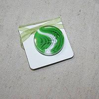 Магнитные подхваты танго зеленый, 40мм