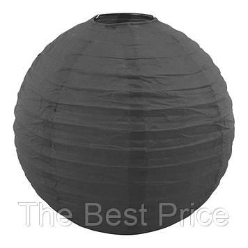 Декор підвісний Куля (25см) чорний