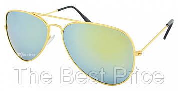 Очки капли авиаторы Aviator 3026 капля бирюзовые