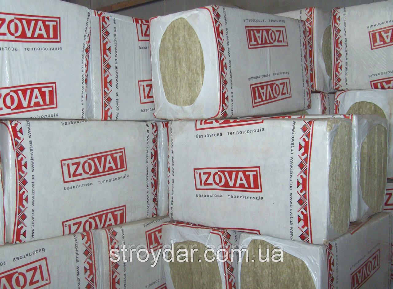 Базальтовый утеплитель Izovat (Изоват) 45 100 мм