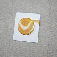 Магнитные подхваты танго,желтый 40мм