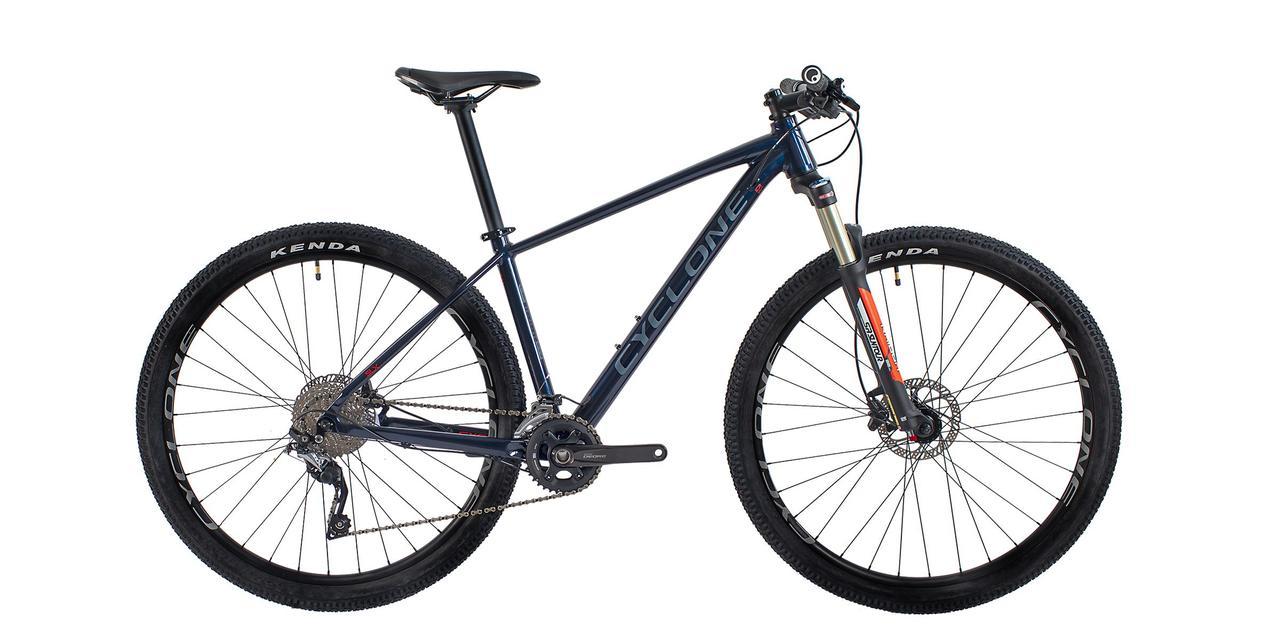 """Велосипед CYCLONE 29"""" SLX рама-19"""" синій 21-026 2021"""