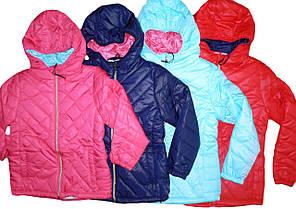 Куртка  стеганая  для девочки, размеры   128/134, Glo-Story, арт. 9566