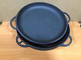 Казан азіатський 8л з чавунною кришкою сковорідкою, фото 4